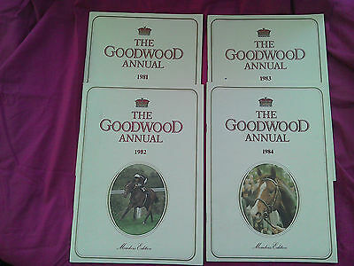 12 Glorious Goodwood Members Annuals 1981 to 1992 inclusive.
