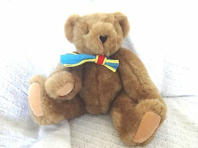 Vermont Teddy Bear Company Brown Bear With Bow Tie