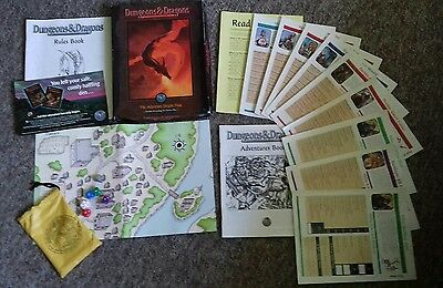 ADVENTURE BEGINS NOW Silver Anniversary Box Set D&D Dungeons & Dragons TSR