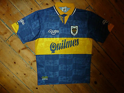 BOCA JUNIORS SHIRT (M)  NOLAN 90th Anniversary 1995 football jersey camiesta