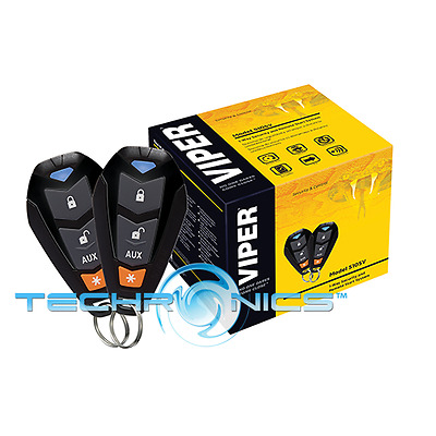 Viper 5105V 1-Way Car Alarm Security System And Remote Start System