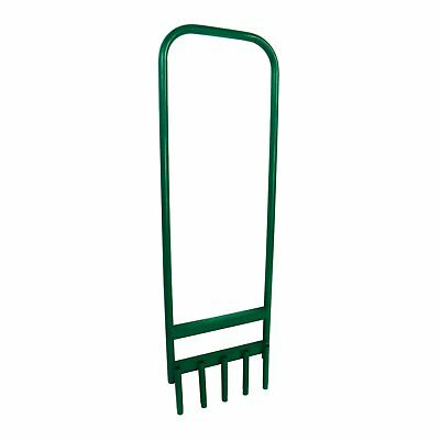 NEW! Hollow Tine 5 Spike Hand Lawn Green Grass Soil Aerator Outdoor Garden