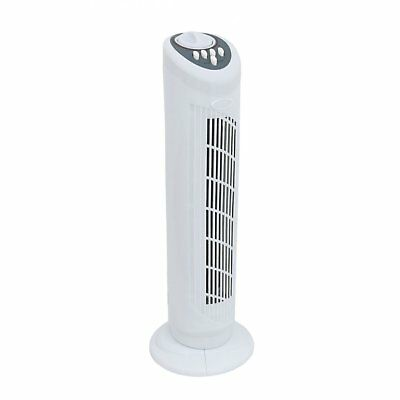 """NEW! 30"""" Free Standing 3-Speed Oscillating Tower Cooling Fan"""