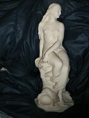 "Parian Statuette ""Miranda"" By John Bell With Minton's Mark Perfect Condition."