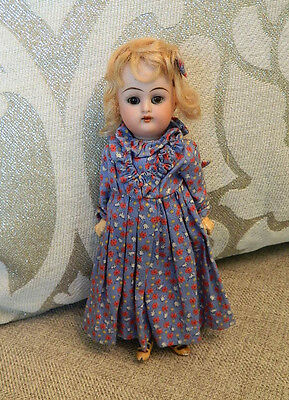 "Antique 8"" Working Kammer Reinhardt Walker Doll Mignonette K & R Simon Halbig"