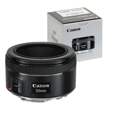 Canon EF 50mm f/1.8 STM Autofocus Lens for EOS DSLR Cameras BRAND NEW
