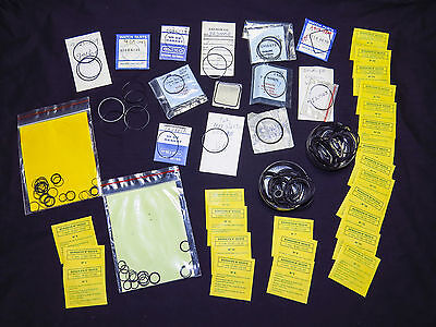 Assortment of 190 Gasket and O Ring for Waterproof Watch