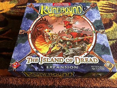 Runebound 2nd Edition: The Island of Dread Expansion
