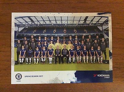 Chelsea Ladies 2017 Spring Series Colour Laminated Poster