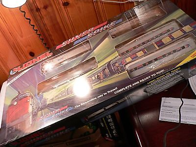 """Lionel Amtrak """"Silver Spike"""" Set SEALED   Vintage 1980's 6-11707  new in the box"""