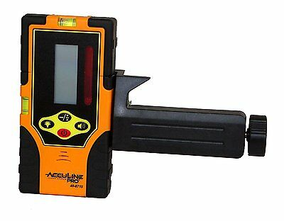 Johnson Level and Tool 40-6715 Two-Sided Laser Detector with Clamp