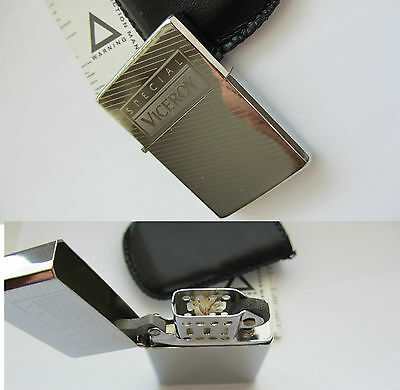 NUOVO ORIGINAL VICEROY SPECIAL LOGO Accendino LIGHTER - LIMITED EDITION