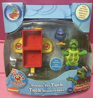 Fisher Price Wonder pets Truck Help save the baby Bird Truck Bobbles New in Box