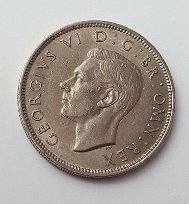 Dated 1947 - King George VI - One Florin / Two Shillings - Coin - Great Britain