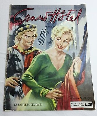 Rivista Grand Hotel Marilyn Monroe  1955 Epoca Magazine Italy cinema