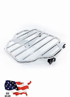 King Detachable Two Up Luggage Rack Harley electra glide ultra limited 50300054A