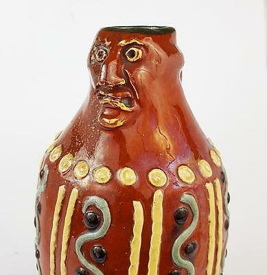 Antique MEDIEVALIST WEST COUNTRY JUG Grotesque Mask