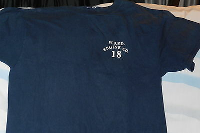 """Engine 18 - WBFD"" T-Shirt Firefighter Item –M"