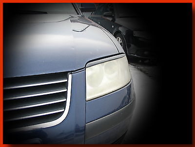 Volkswagen Passat B5 3Bg Headlight Brows Eyelids Eyebrows Abs Plastic Tuning
