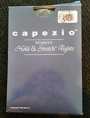 Capezio Womens Hold and Stretch Dance Tights 14 Color Black Size M
