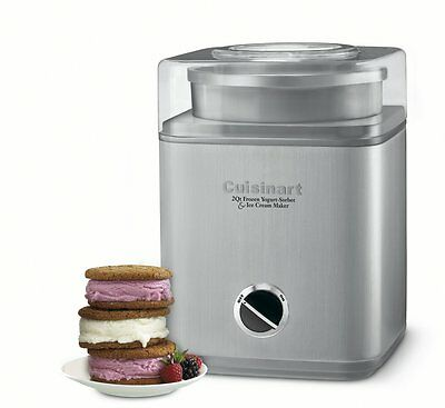 Cuisinart Ice Cream Maker - 2 qt - Silver