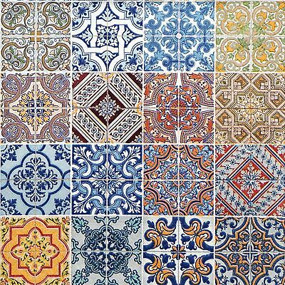 4 Vintage Paper Napkins for Decoupage Lunch Party Craft Morocco Tiles  Art F18