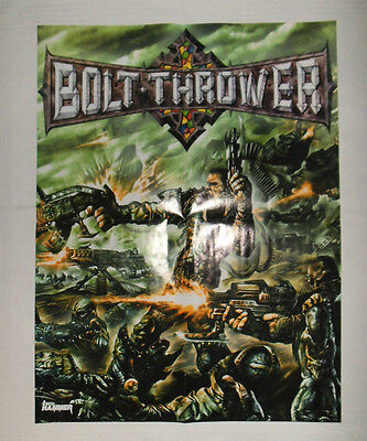 "BOLT THROWER ""Honour-Valour-Pride"" POSTER Napalm Death AXEGRINDER Benediction"