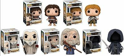 FUNKO POP! Lord of The Rings LOT of 5 with free protectors