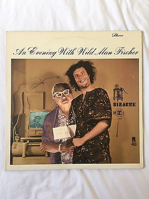 Wild Man Fischer, An Evening With Wild Man Fischer, Vinyl, Frank Zappa