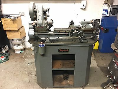 Myford ML7 Lathe and Stand / Cabinet