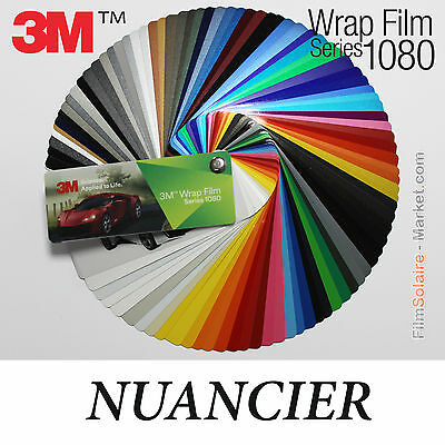 NEW Nuancier 3M Wrap Film series 1080, 90 échantillons Vinyle COVERING samples
