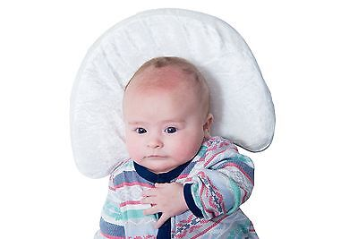 Newborn Head Shaping Pillow that Prevents Plagiocephaly Bamboo Pillowcase wit...