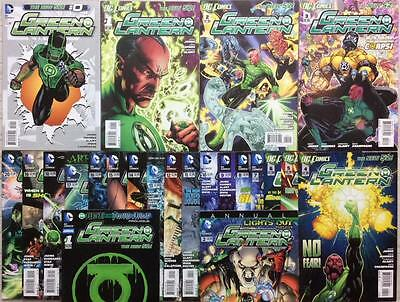 Green Lantern #0 - #20 + Annuals #1 & #2 (New 52, DC 2011) 23 x FN-NM issues.