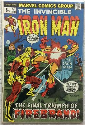 Iron Man #59 (1973 Marvel 1st series) FN+ condition. 43 years old rare.
