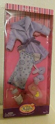 Only Hearts Club Ready to Wear Clothing Pack Purple Robe & Slippers Outfit