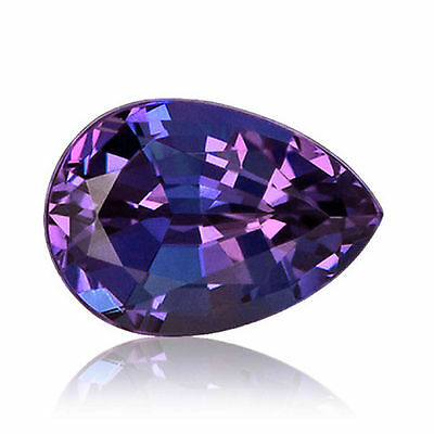 1.99 Carat Color Change Created Alexandrite Loose Gemstone