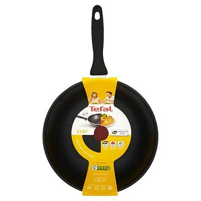 Tefal 'easy' Stir Fry Wok Pan - 28 Cm (Black)