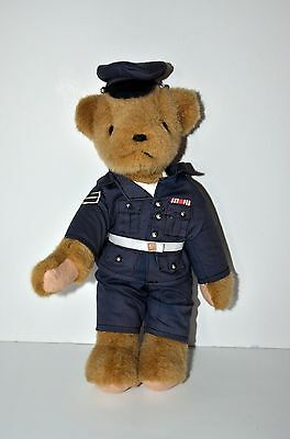 Annette Funicello Collectible Air Force Bear Military Solider