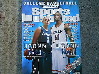 Diana Taurasi Autographed SI Magazine Cover 2003-04
