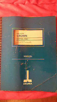 Okuma Crown CNC Lathe Parts Book Manual