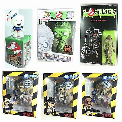 Ghostbusters Exclusives Lot (Lootcrate Evilos Mindbender Funko Pop Staypuft)