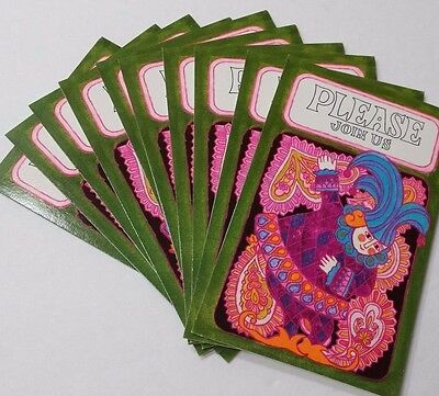 Vintage Jester Invitation Cards by Carlton Cards
