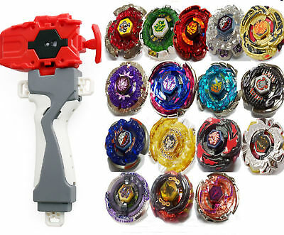 BEYBLADE METAL FUSION MASTERS NEW ZERO-G/4D System+Power Launcher Fight Toy