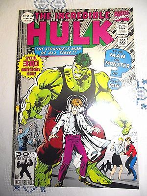 Incredible Hulk #393 30th anniversary issue 2nd print (Grey cover) FN