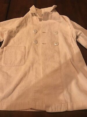 Vintage Best & Co. Corduroy Button Up Boys Girls Shirt Jacket