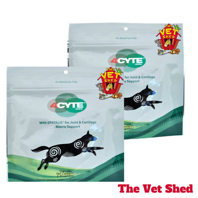 4Cyte Canine Joint Support for dogs 100gm x 2