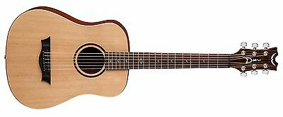 Dean FLY SPR Flight Series 3/4 Size Travel Acoustic Guitar, Spruce - [MA 116]