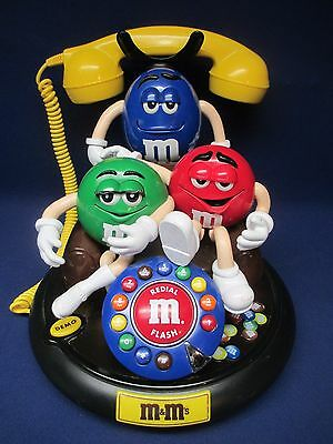 M&m Animated Telephone Works Great