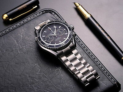 NEW  Addition Chronograph Wristwatch Multifunction Stainless Mens Watch Torbollo