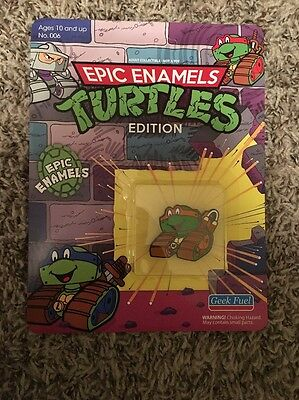 Epic Enamels Teenage Mutant Ninja Turtles Geek Fuel April 2017 Michelangelo
